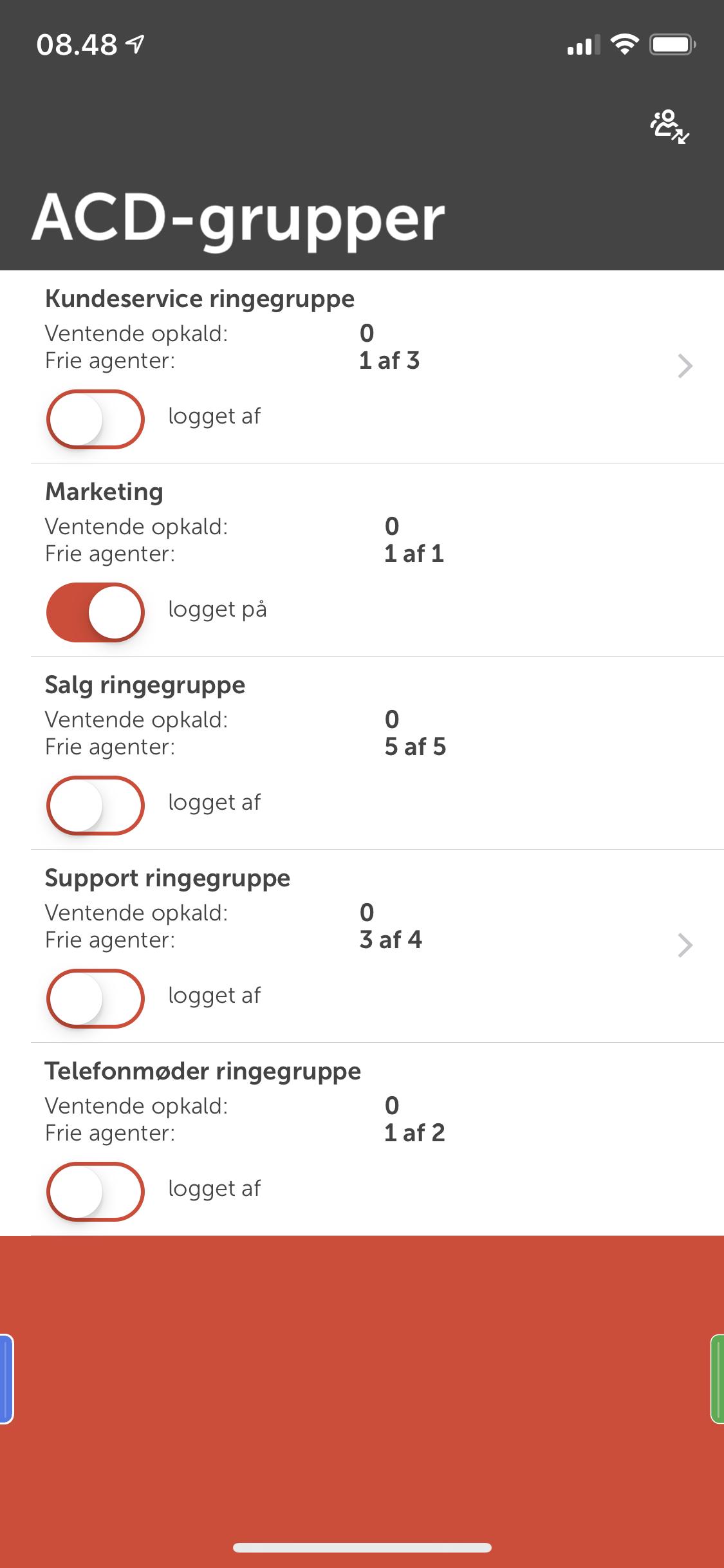 ACD-ringegrupper screenshot