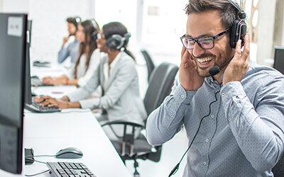 Udviklingsfaser omkring kontaktcentre for virksomheder